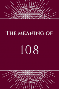 meaning of 108