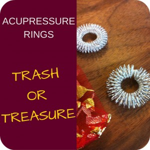 Acupressure Ring - Trash or Treasure? by Qialance.com