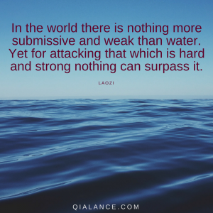 Laozi quote: water