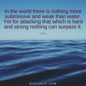 Laozi quote: water