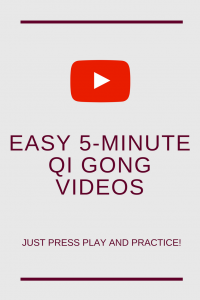easy 5-minute Qi Gong videos