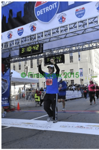 Rick Matz (blogger at Cook Ding's Kitchen) finished Half Marathon