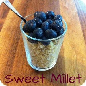 TCM snack Sweet Millet