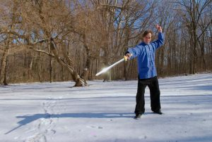 Scott M. Rodell - Chinese Swordmanship in the snow