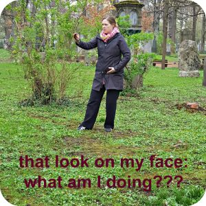 Qialance blogger Angelika Fritz doing Taijiquan