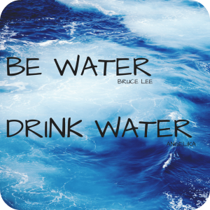 be water - the water drinking challenge for martial artists