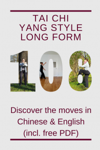 Yang style Tai Chi 108 form (long form) in Chinese, English ...