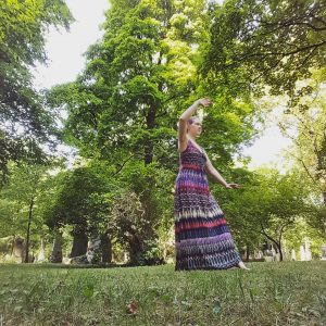 Angelika Fritz Tai Chi blogger - Qi Gong enthusiast